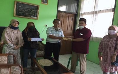 Alumni Anggkata 1987 sumbang Untuk Rehab Masjid SMAN Cilimus