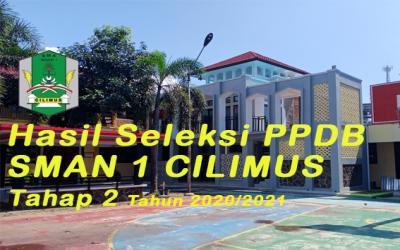 Informasi Kelulusan PPDB Tahap 2 SMAN 1 Cilimus