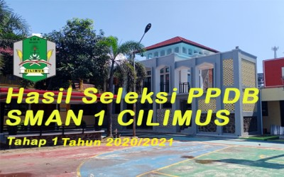 Informasi PPDB SMAN 1 Cilimus 2020/2021