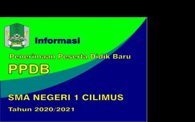 INFO PPDB 2020/2021 SMAN 1 CILIMUS